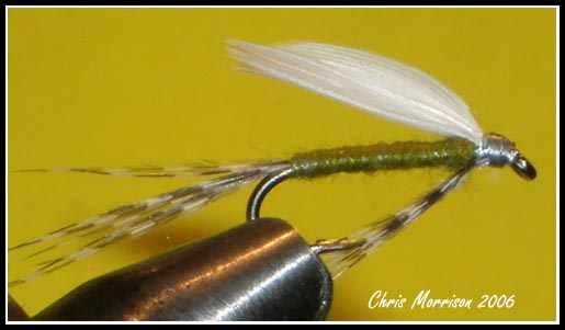 Traditional BWO Wet Fly #18