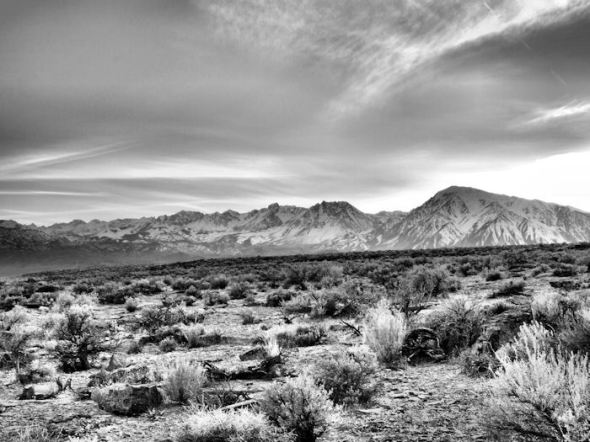3 exposures at 0.7 EV stops.  Converted to greyscale.
