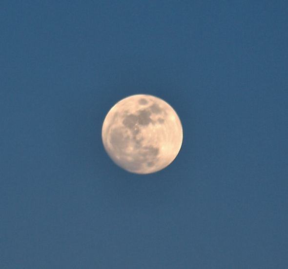 Boring, really.  But the moon itself looks pretty cool...