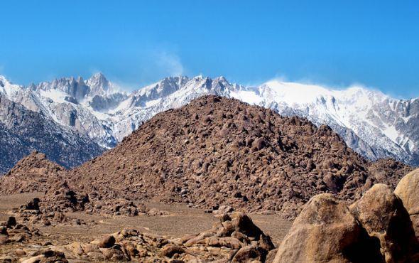 Mt. Whitney on the far left.