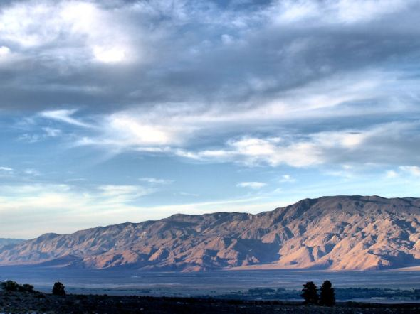 Western Slope of the White Mountains--HDR