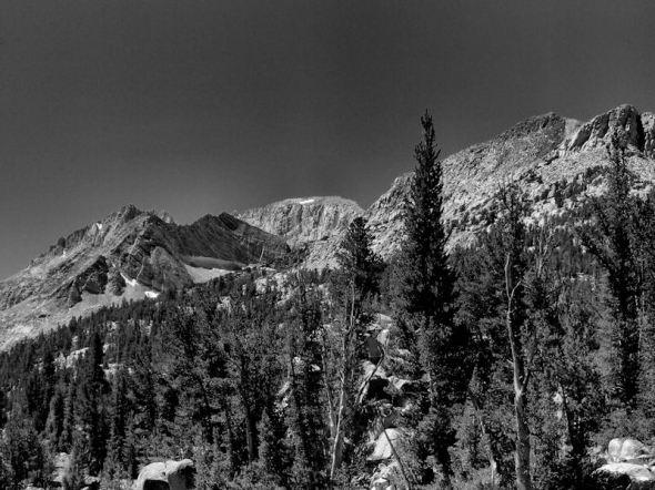 B&W Granite Peaks