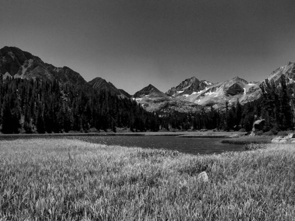 B&W Heart Lake