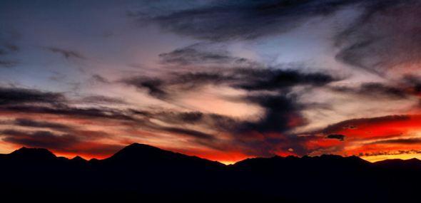 Basin Mountain, Mt. Tom, Wheeler Crest